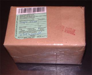 航空郵便小包